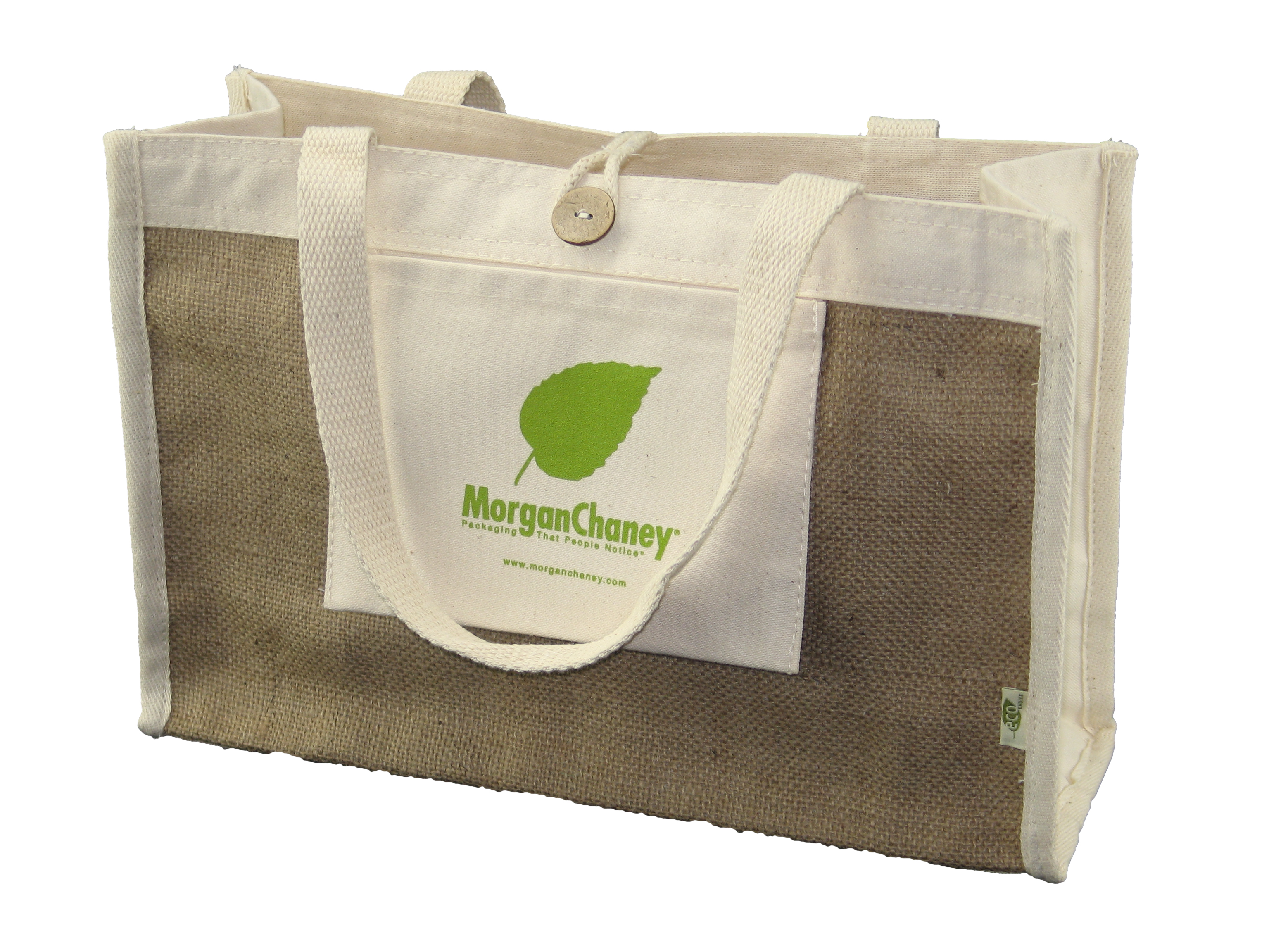 Custom Reusable Tote Bags | Morgan Chaney - Custom Printed Packaging