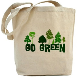 Custom reusable tote bag, eco-friendly packaging
