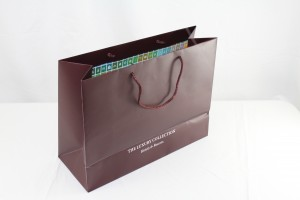 Custom luxury eurotote shopping bag