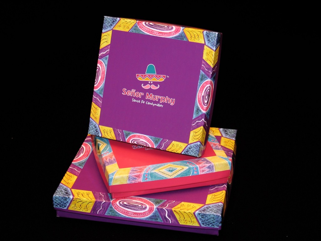 Custom candy boxes, colorful custom printing