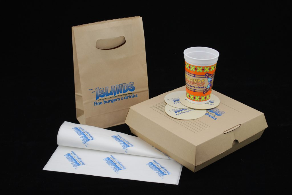 Custom restaurant packaging program
