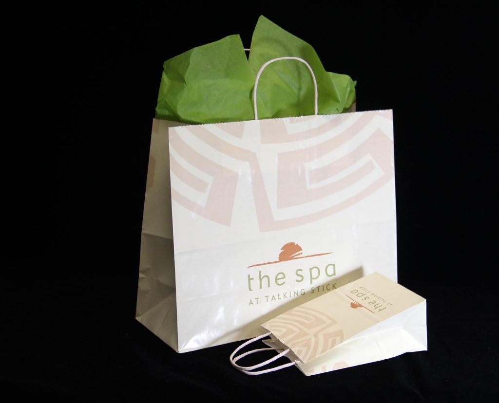 Spa at Talking Stick-Paper Shopping Bag-001