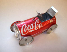 Turning an aluminum can into a fun racecar