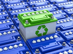 recycling batteries